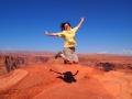 Alice Jumping